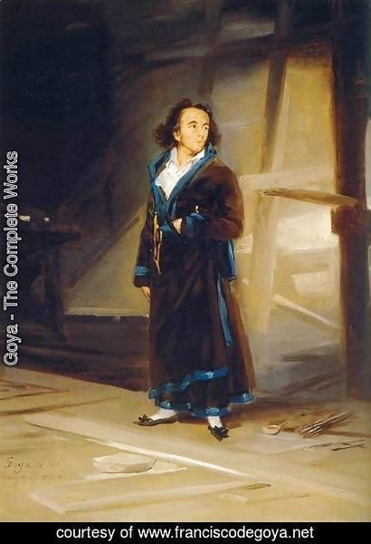 Goya - Portrait of Asensio Julia
