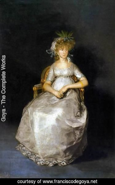 Goya - The Countess of Chinchon 3