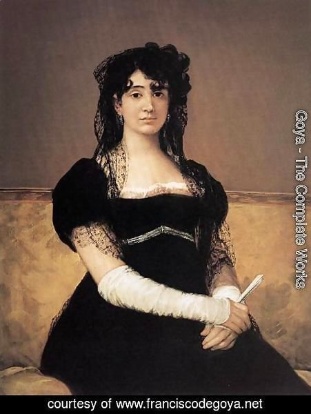 Goya - Portrait of Antonia Zarate