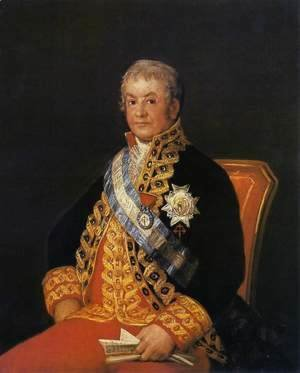 Goya - Portrait of Jose Antonio, Marques de Caballero