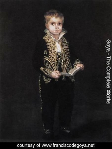 Goya - Portrait of Victor Guye 2