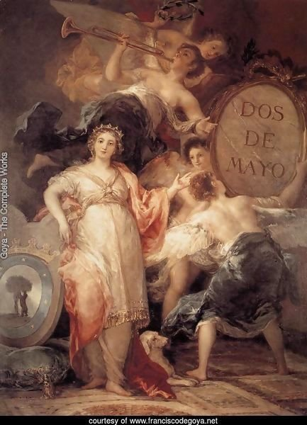 Allegory of the City of Madrid 2