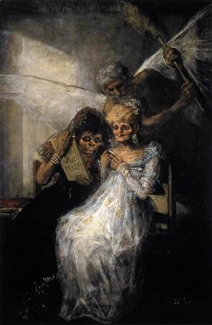 Goya - Les Vieilles or Time and the Old Women 2