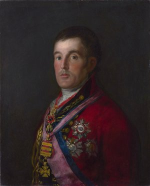 Goya - Portrait of the Duke of Wellington 2