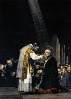 Goya - The Last Communion of St Joseph of Calasanz 2