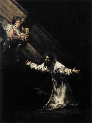 Goya - Christ on the Mount of Olives 2