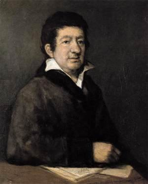 Goya - Portrait of the Poet Moratin