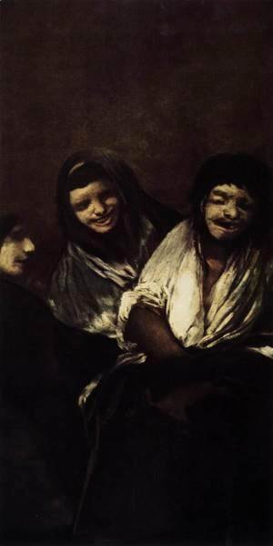 Goya - Two Women and a Man 2