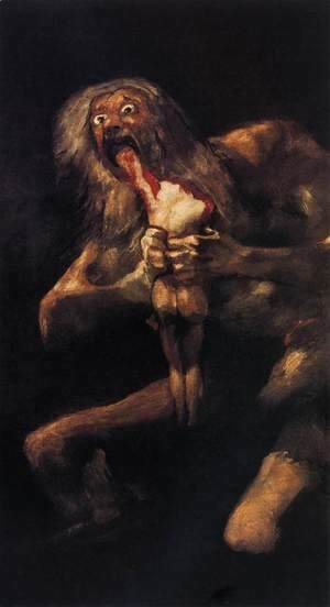 Goya - Saturn Devouring One of his Children