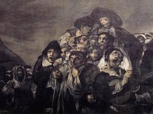 Goya - A Pilgrimage to San Isidro (detail)