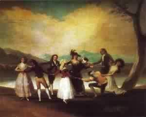 Goya - Blind Mans Buff 1789