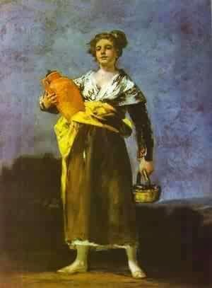 Goya - Girl With A Jug (Aguadora)