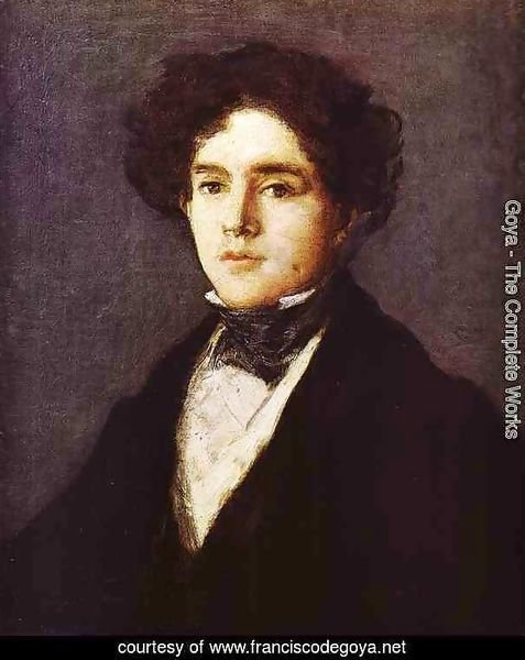 Mariano Goya The Artists Grandson 1827