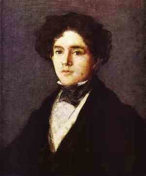 Goya - Mariano Goya The Artists Grandson 1827