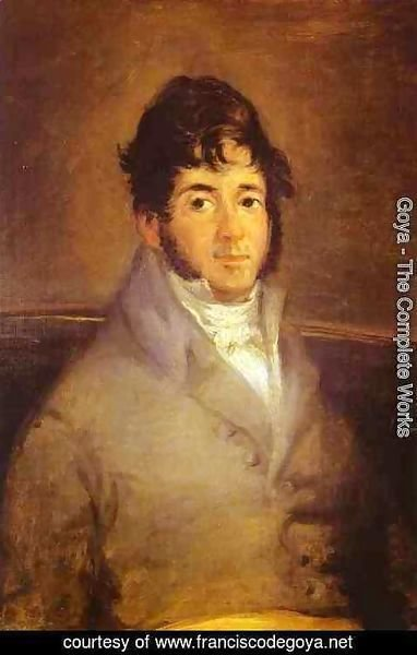 Goya - Portrait Of The Actor Isidro Maiquez 1807