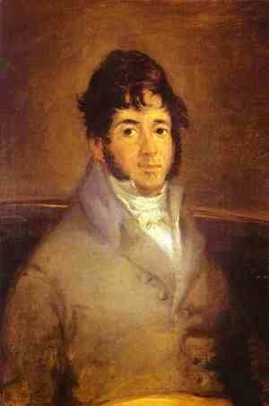 Portrait Of The Actor Isidro Maiquez 1807