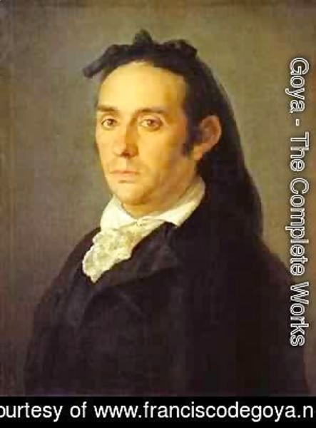 Goya - Portrait Of The Artist Julio Asensio