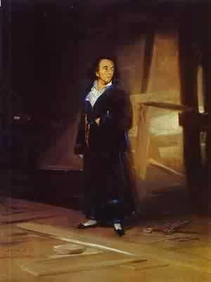 Goya - Portrait Of The Bullfighter Pedro Romero
