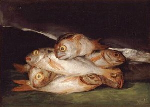 Goya - Still Life with Golden Bream 1808 12