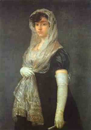 Goya - The Booksellers Wife 1805-08