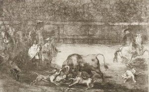 Goya - The Dogs Let Loose On The Bull