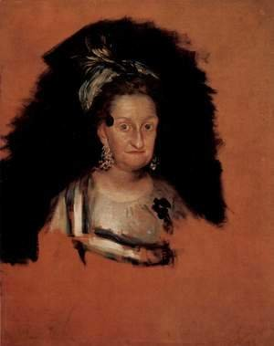Goya - Portrait of the Infanta Maria Josefa