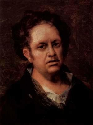 Goya - Self-portrait of the artist