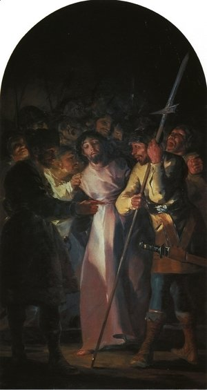 Goya - The Arrest of Christ