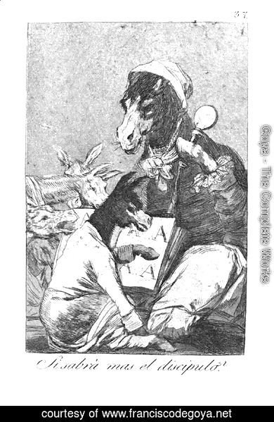 Goya - Will the student be wiser