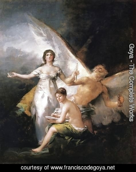 Goya - Truth Rescued by Time, Witnessed by History