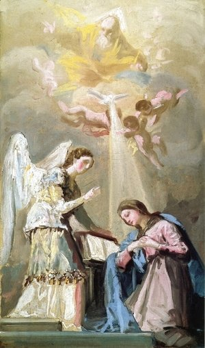 Goya - The Annunciation 2
