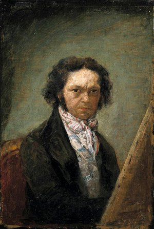 Goya - Self portrait 5
