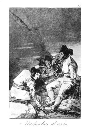 Goya - Lads getting on with the job