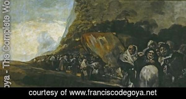 Goya - Promenade of the Holy Office