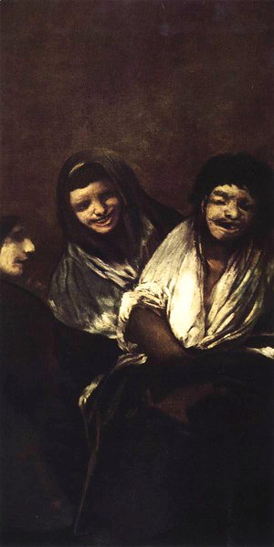 Goya - Young People Laughing