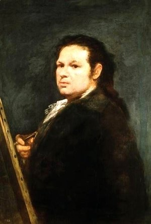 Goya - Self portrait 6