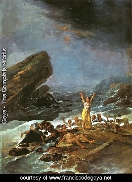 Goya - The Shipwreck