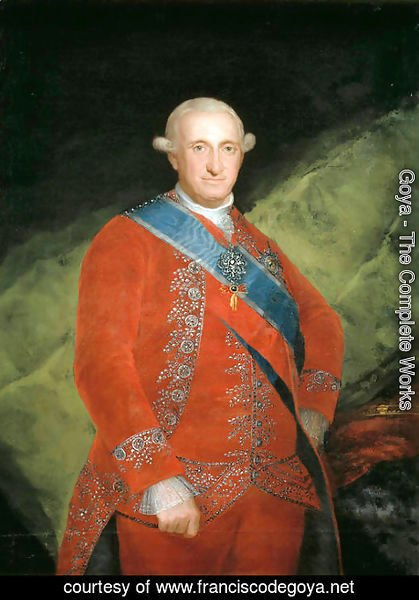 Goya - Portrait of Charle IV of Spain