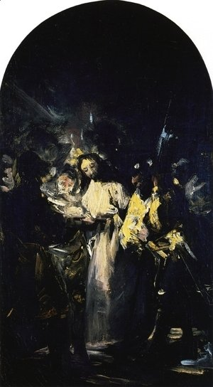 Goya - The Arrest of Christ 2