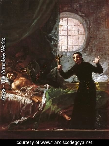 Goya - St. Francis Borgia Helping a Dying Impenitent