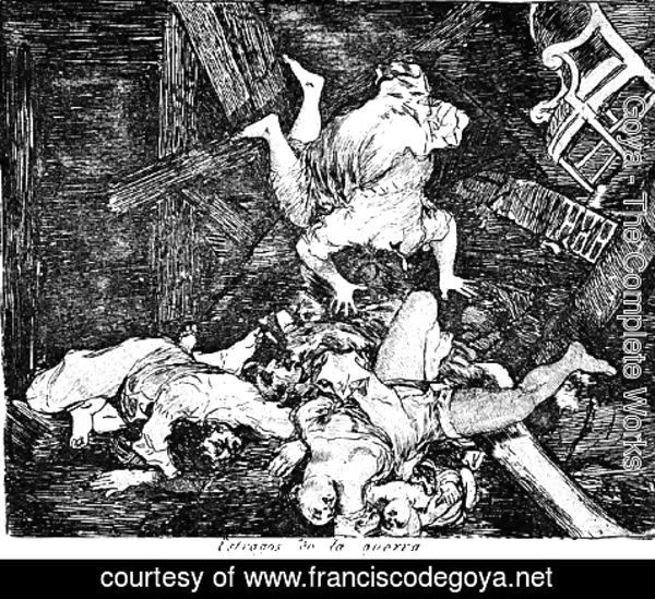 Goya - Ravages of war