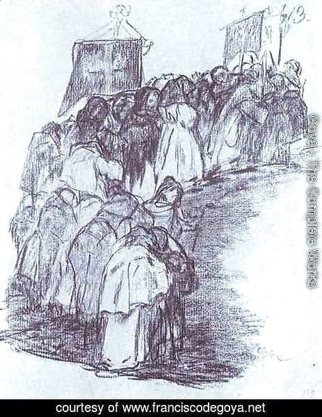 Procession of Monks