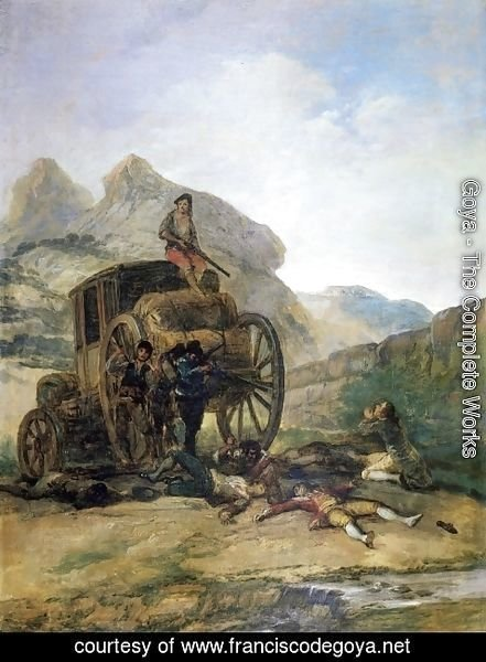 Goya - Attack on a Coach