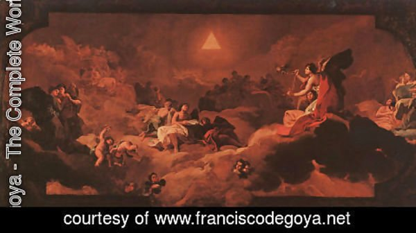 Goya - The Adoration Of The Name Of The Lord