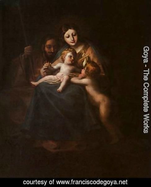 Goya - The Holy Family
