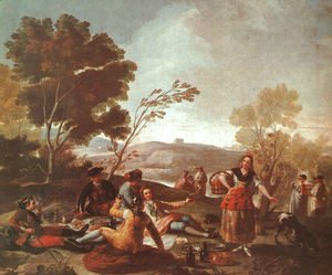Goya - Picnic On The Banks Of The Manzanares