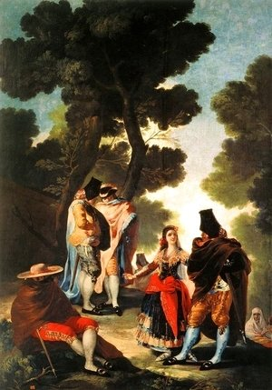 Goya - The Maja And The Masked Men