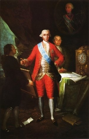Goya - The Count Of Floridablanca
