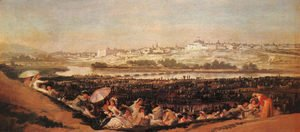 Goya - Festival At The Meadow Of San Isadore