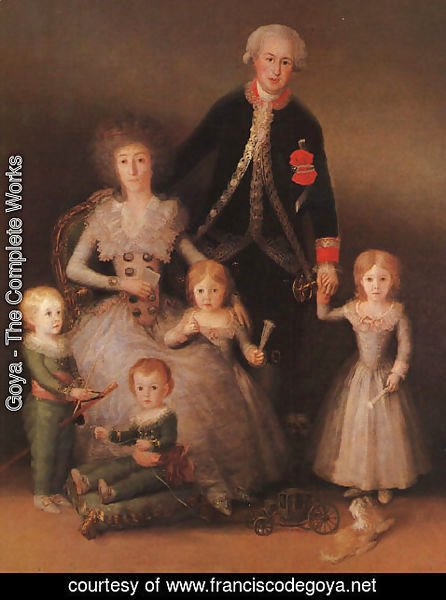 Goya - The Duke And Duchess Of Osuna And Their Children